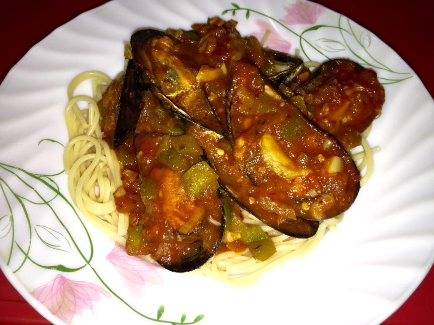 Recipe: Mussels FraDiavolo