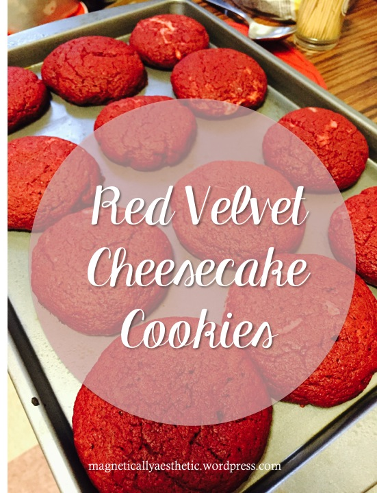 Recipe: Red Velvet Cheesecake Cookies