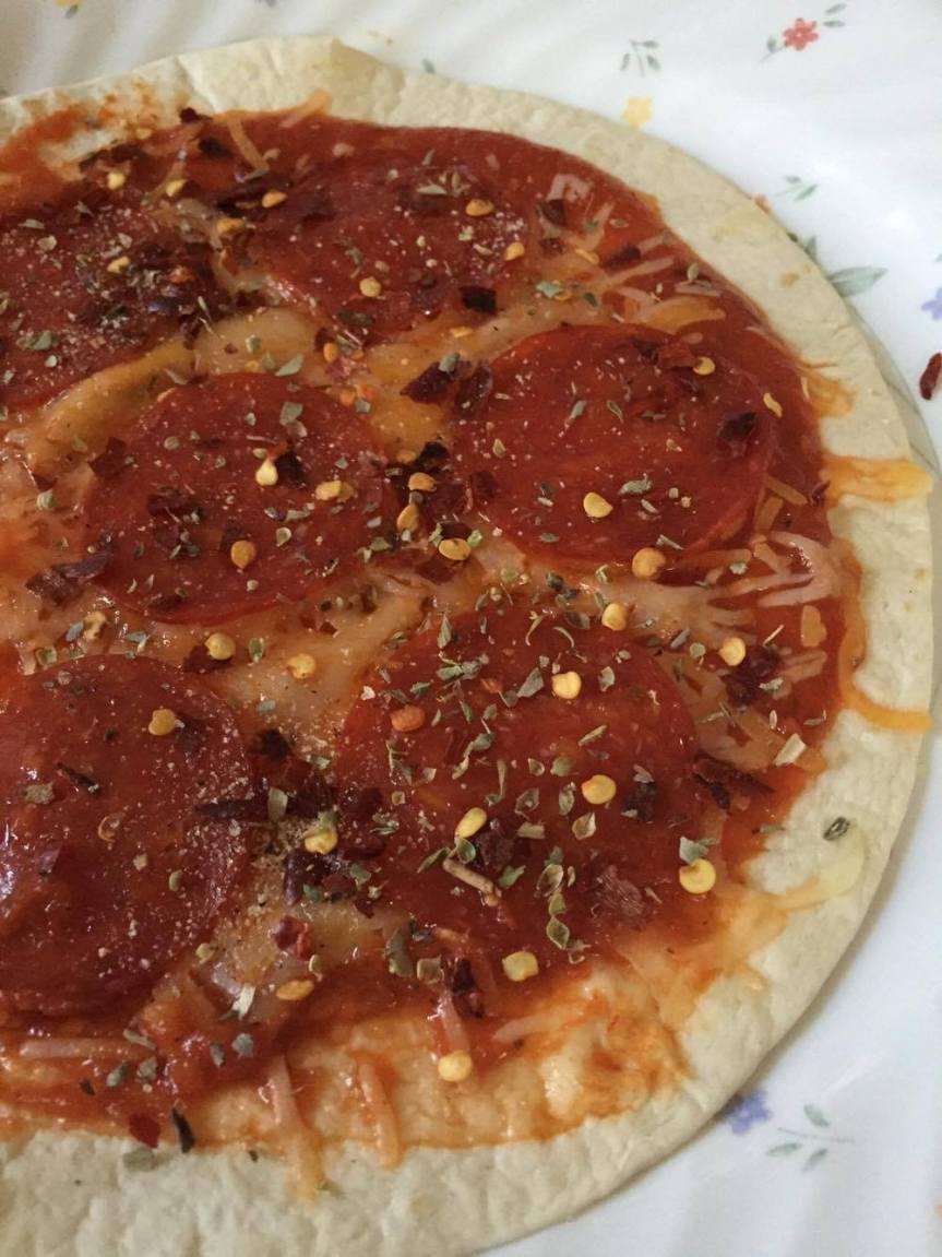 Recipe: Tortilla Pizzas