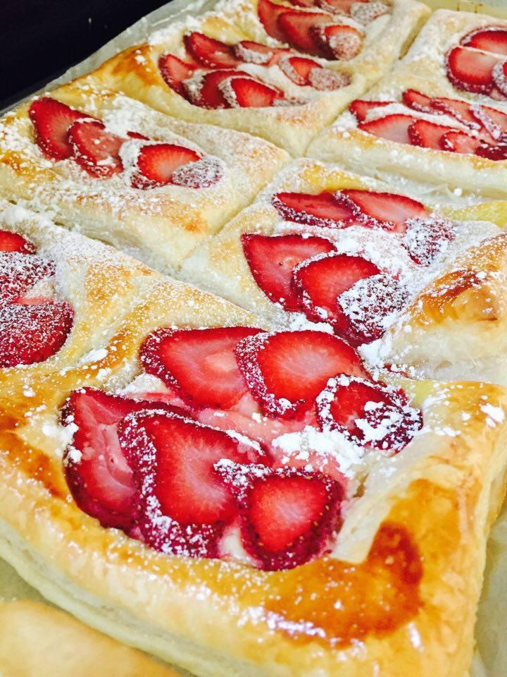 Recipe: Strawberry Cream CheesePastry