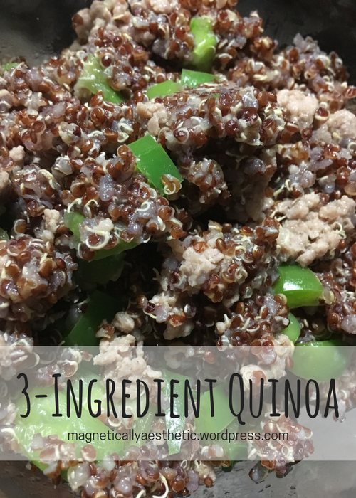 Recipe: 3-Ingredient Quinoa