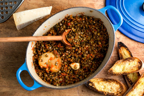 Recipe: 4-Ingredient Lentil Stew