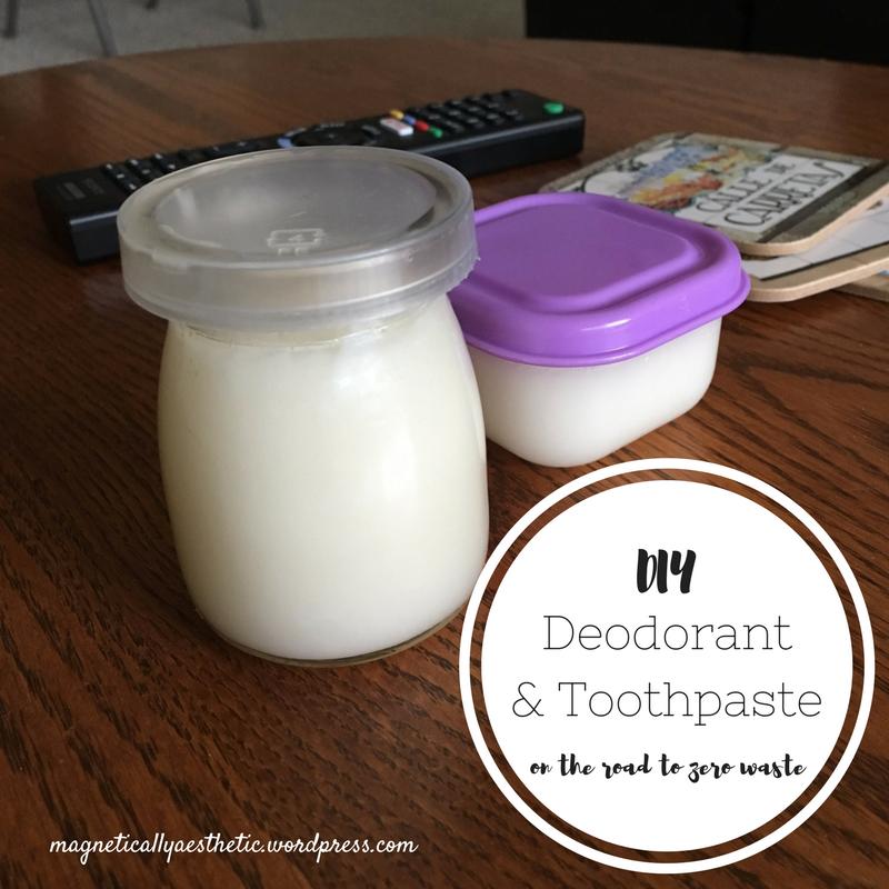 Diy Toothpaste Amp Deodorant Same Recipe Base