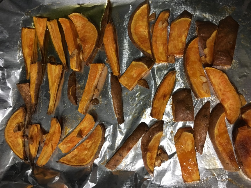 Recipe: Baked Sweet Potato Fries
