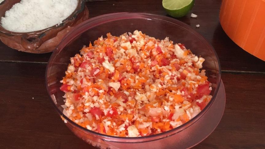 Making ceviche de coliflor3