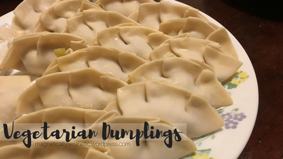 Recipe: Vegetarian Dumplings