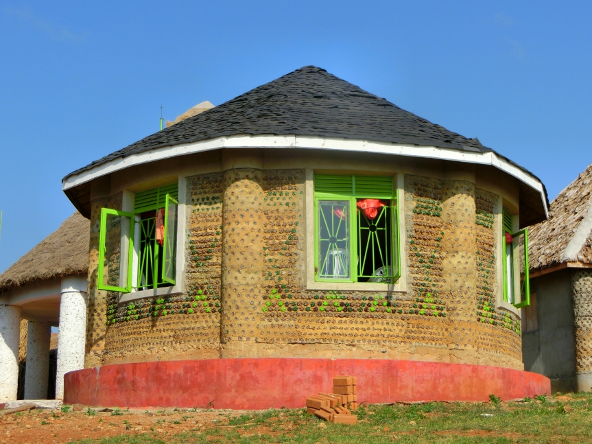How One Young Man's Childhood Experiences Spurred the Movement to Build Homes Out of Plastic Bottles in Uganda