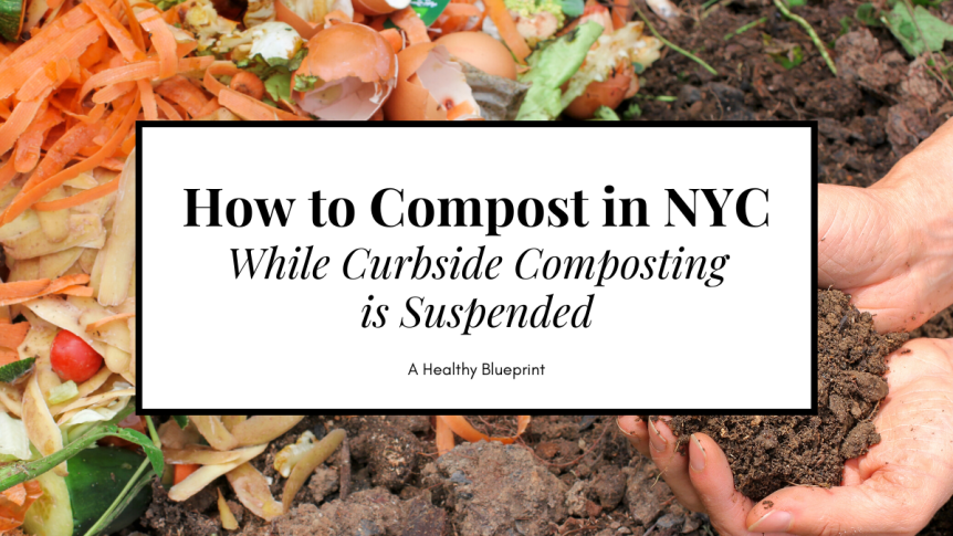 3 Ways to Compost in NYC While Curbside Composting is Suspended during a Pandemic