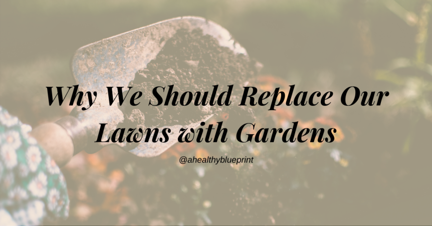 Why We Should Replace Our Lawns with Gardens